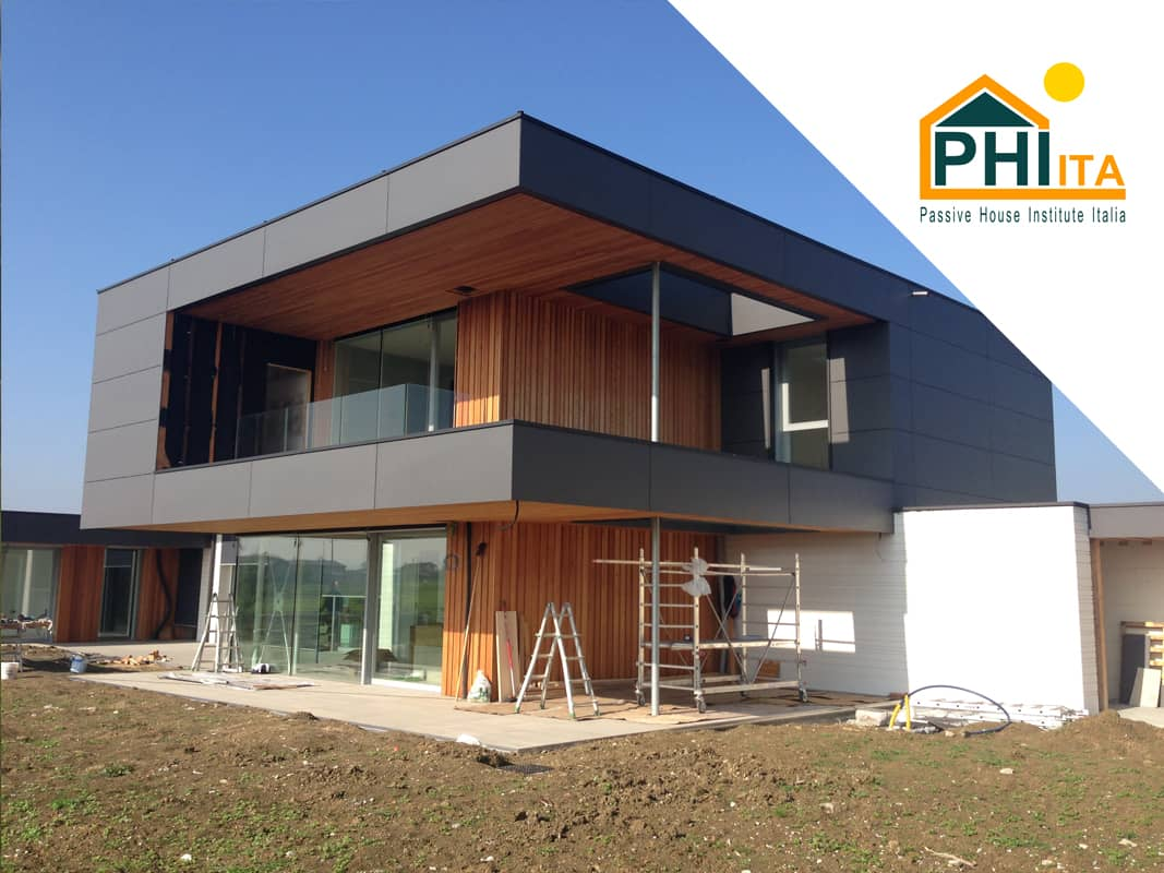 Cantiere Passive House