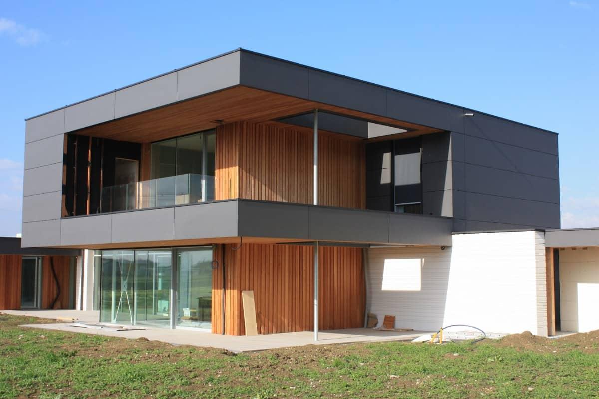 casa in legno moderna certificata passive house