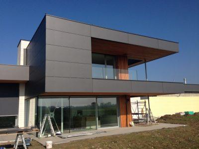 casa in legno moderna xlam
