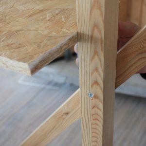 showroom di case in legno larice