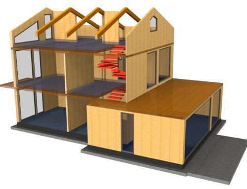 Casa passiva xlam joist protek case in legno - Prima casa senza residenza ...