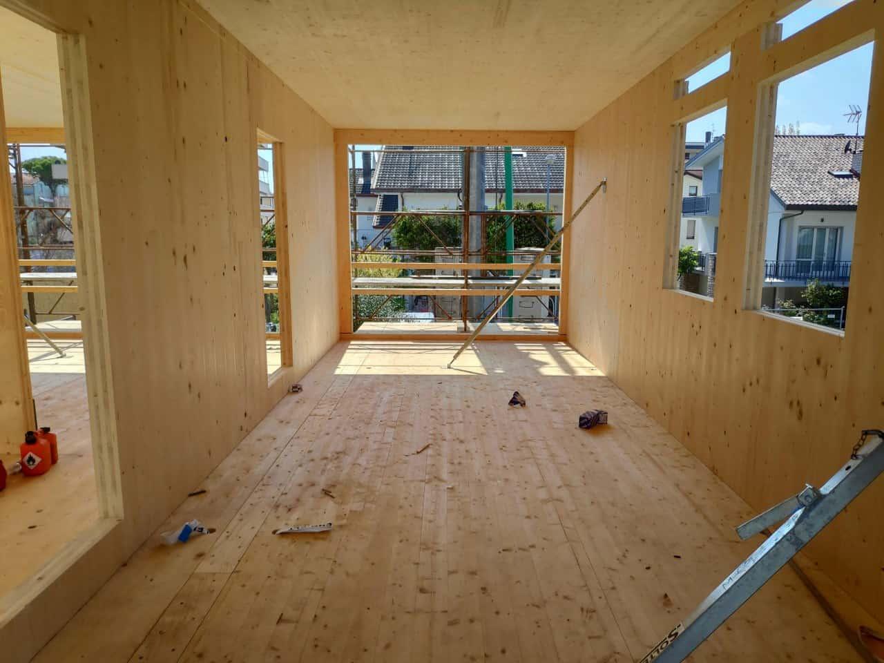 Residenza angelini prima casa passiva a riccione protek case in legno - Residenza prima casa ...